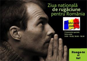 Ziua Nationala de Rugaciune pentru Romania 2009